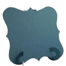 24 x Teal Elegant Place Cards, Perfect for Stylish Weddings & Parties. Tableware UK Card Crafts